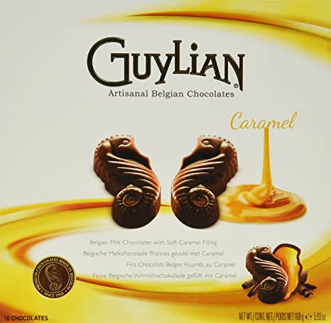 Amazon.com : Guylian Belgium Chocolates Milk Chocolate Seahorse Truffle, Chocolate Filling, 4.94 Ounce : Grocery & Gourmet Food