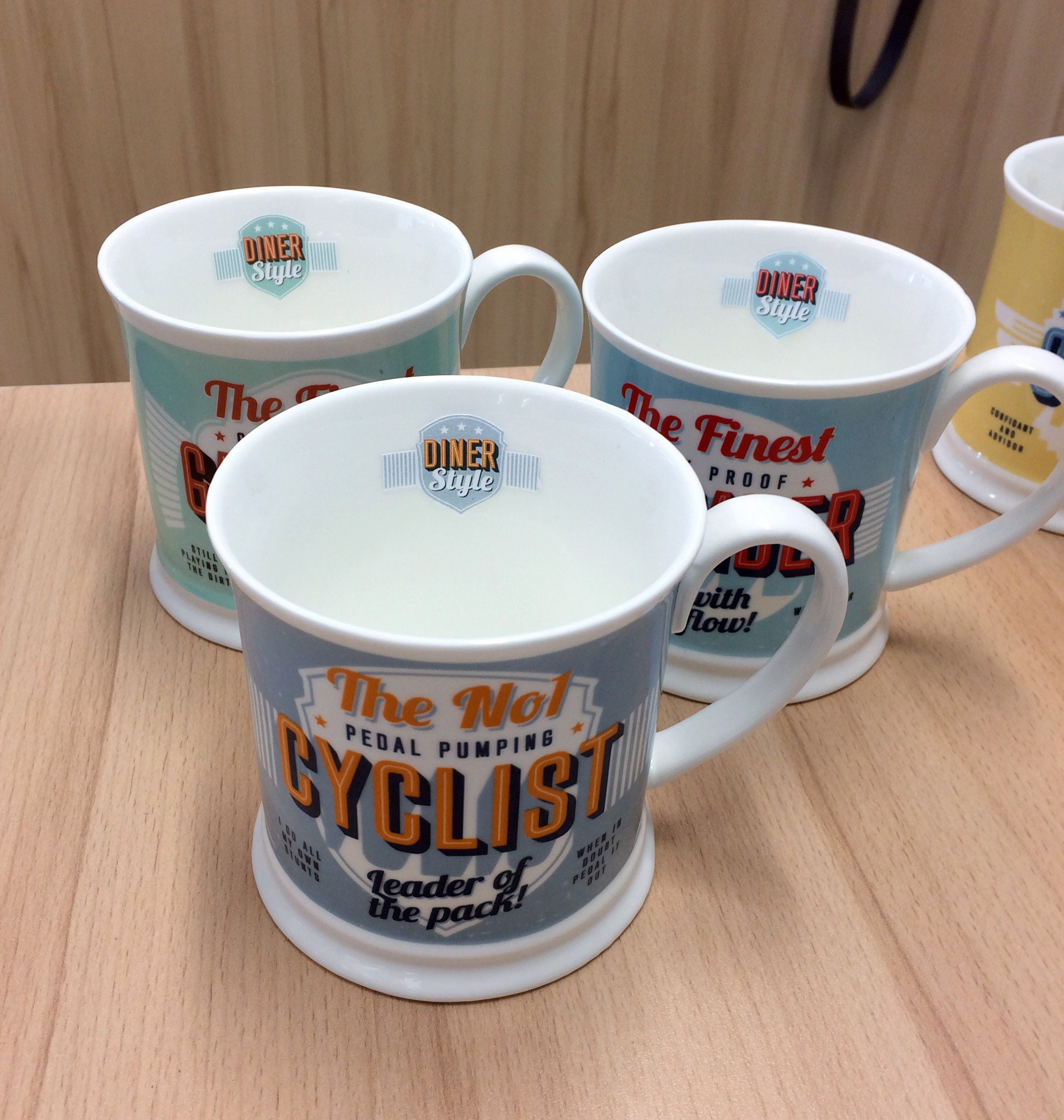 Turquoise Diner Mugs 195000177Dentist Mug