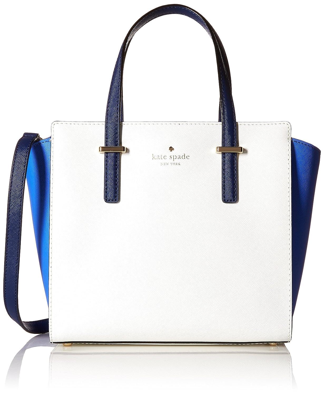 Kate Spade New York Cedar Street Small Hayden Satchel Pink Bag Adventure Blue Bright White Ocean One Size Clothing