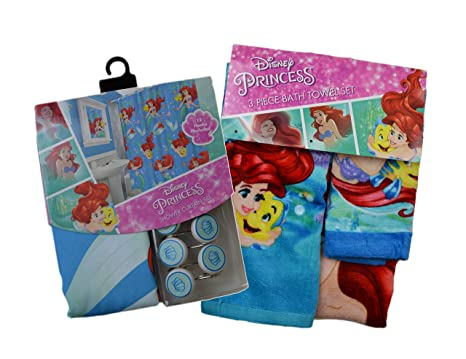 Tende Per Bambini Disney : Disney sirenetta mickey mouse minnie mouse tenda per doccia