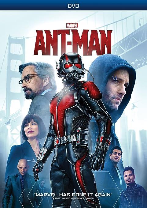 Amazon.com: Ant-Man (1-Disc DVD): Paul Rudd, Michael Douglas ...