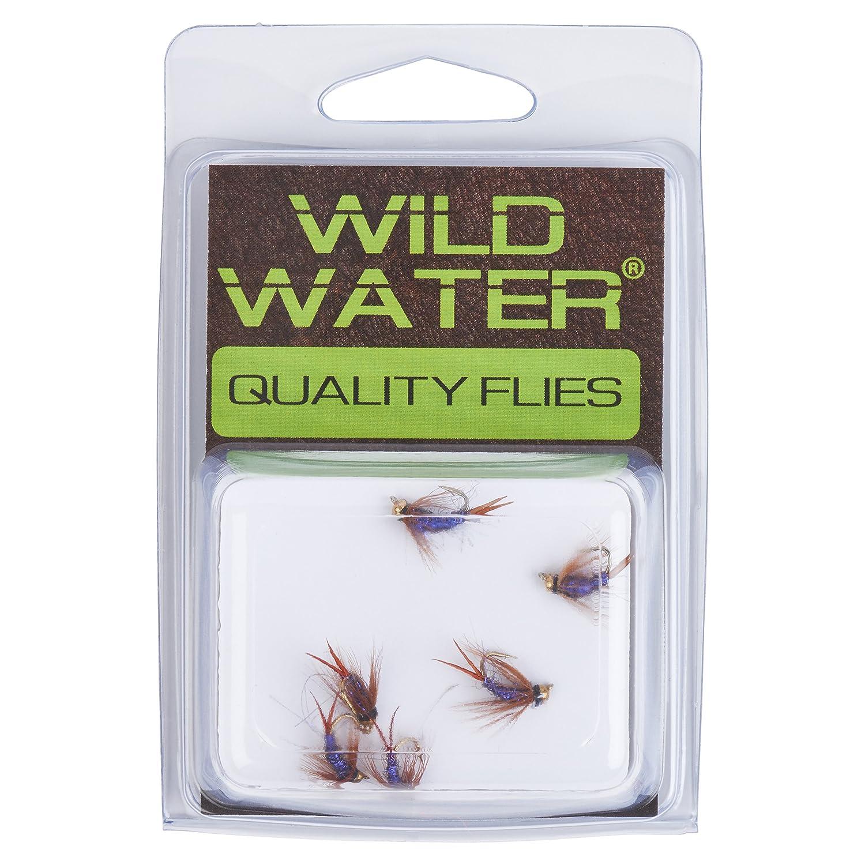 Wild Water Bead Head Purple Prince Nymph Qty.6 Size 14