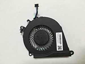 HK-part Replacement Fan for HP Omen 15-AX 15-AX000 15-AX100 15-AX200 15-AX020CA 15-AX033DX 15-AX101TX 15-AX243DX Series Cpu Cooling Fan P/N 858970-001