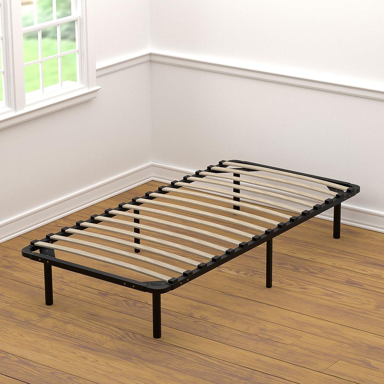 Handy Living Wood Slat Bed Frame Twin XL