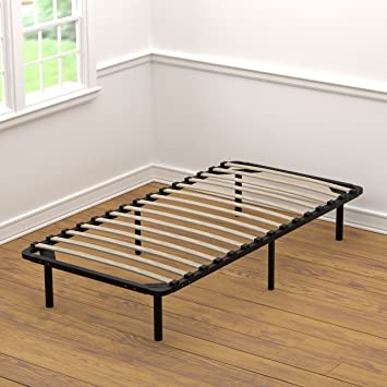 handy living wood slat bed frame twin xl