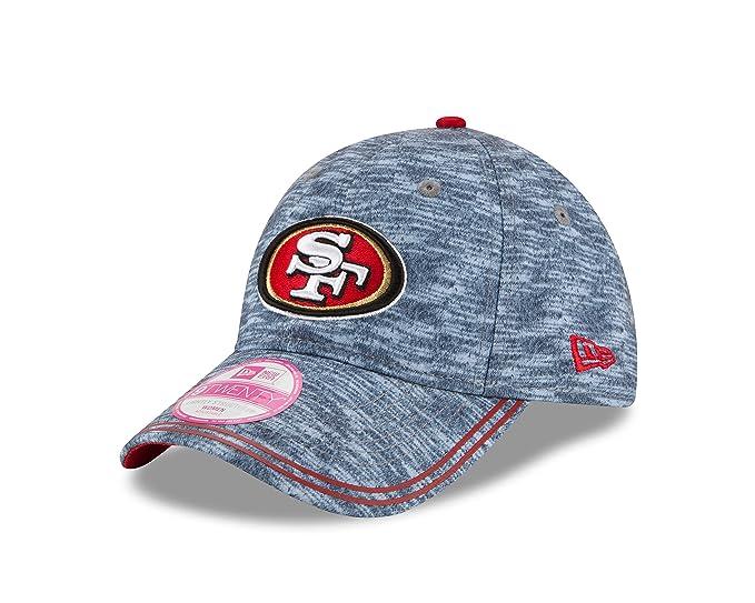 official photos 1ff02 e3833 NFL San Francisco 49Ers Women s Midnite Tech 9Twenty Adjustable Cap, One  Size, Graphite