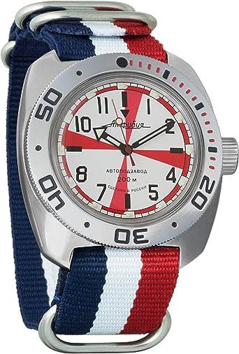 Vostok Amphibian 710750 - Reloj de Pulsera automático para Hombre ...