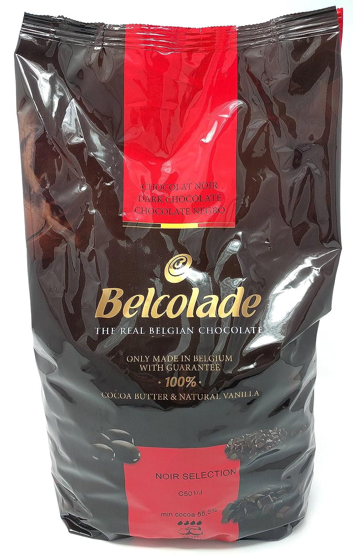 Belcolade 55% pepitas de Chocolate Negro 5kg: Amazon.es: Alimentación y bebidas