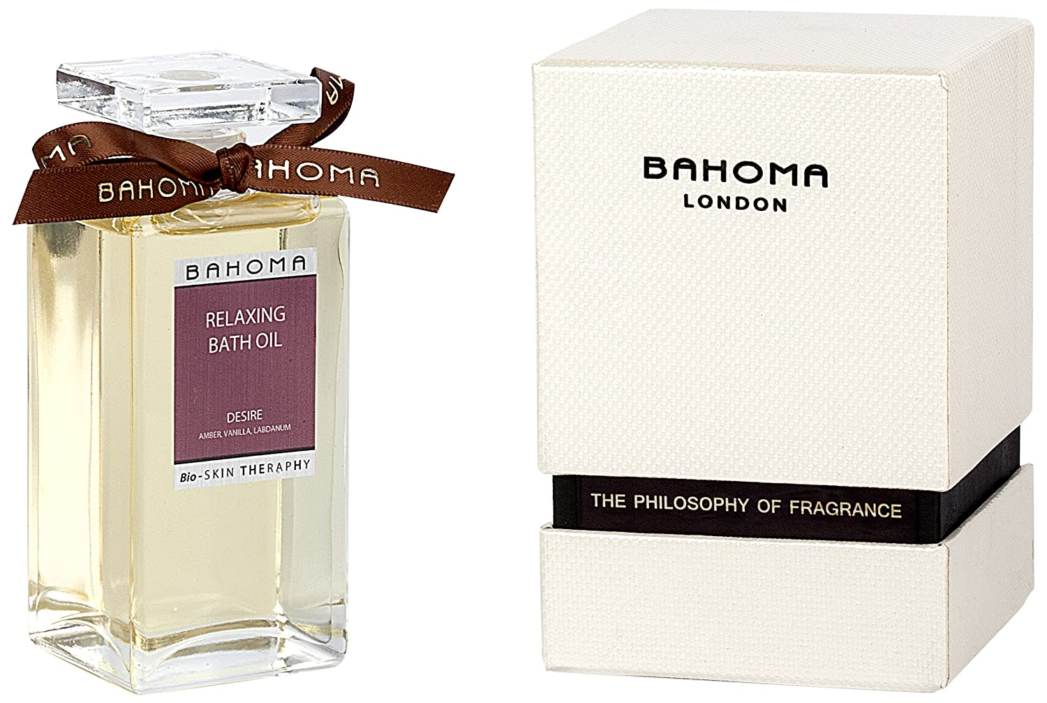 Bahoma Desire Luxurious Gift Box with a 100 ml Bath Oil in a Glass Bottle Bahoma Ltd 307-RB-540-410