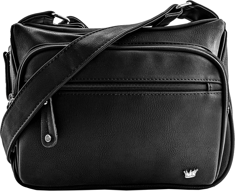 Purse King Magnum CCW Concealed Carry Handbag Conceal Crossbody Gun Purse & Shoulder Bag
