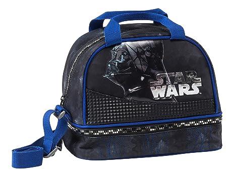 Graffiti Star Wars Mochila Escolar, 22 cm, Negro (Black)