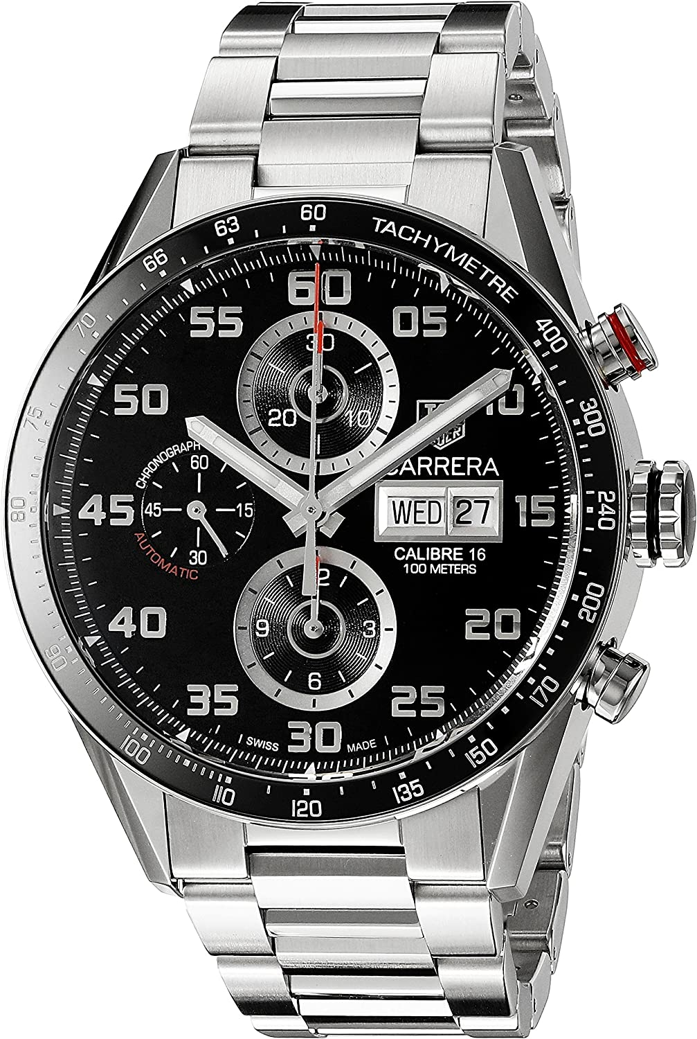 TAG Heuer Men s CV2A1R.BA0799 Stainless Steel Watch