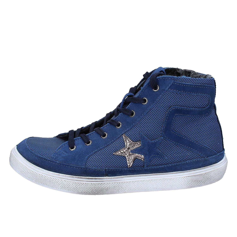 2 Star Turnschuhe Turnschuhe Star Herren Textil blau da3eb2