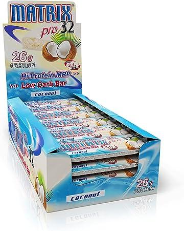 Olimp Sport Nutrition Matrix Pro 32 Proteína Batido, Sabor Coco con Chocolate Blanco - 20 Unidades