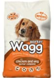 Wagg Complete Worker Chicken and Vegetables Dry Mix Dog Food, 17 kg