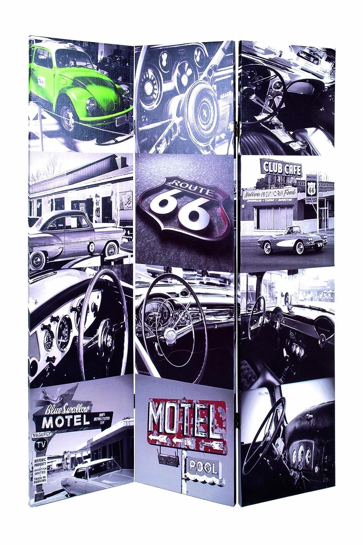 Haku-Möbel 30953 Paravent 120 x 3 x 180 cm, bunt HAKU Möbel