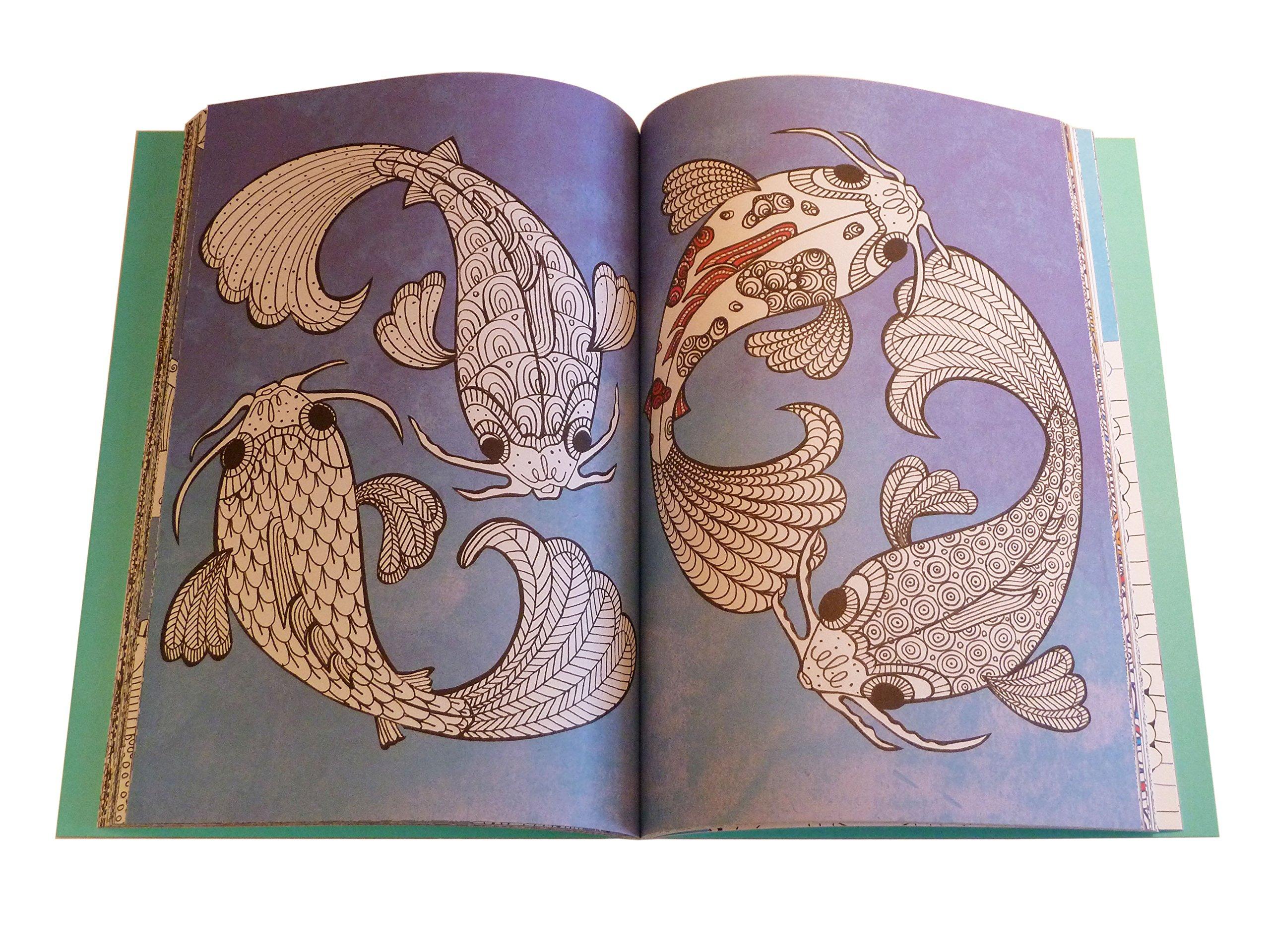 Art therapy coloring book michael omara - The Art Therapy Colouring Book Art Therapy Series Ikuo Horiguchi 9781782432227 Amazon Com Books