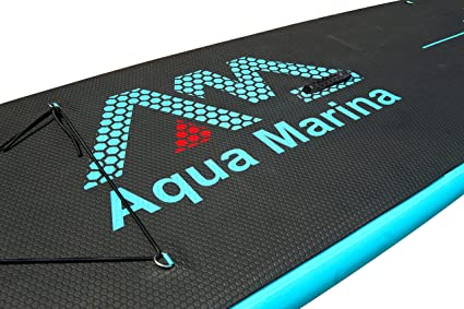 Aqua Marina Vapor-All-Around iSUP, 3.00m/12cm, with Paddle and Safety Leash, Adultos Unisex, Blue, Uni: Amazon.es: Jardín