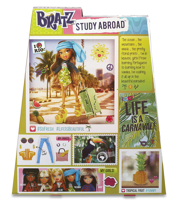 Bratz mu/ñeca Fashion Study Abroad Yasmin Bandai 538202