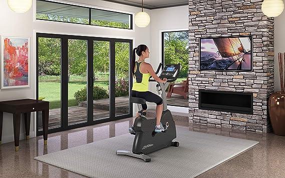 Life Fitness C1 Go - Ciclo de Vida Vertical: Amazon.es: Deportes y ...