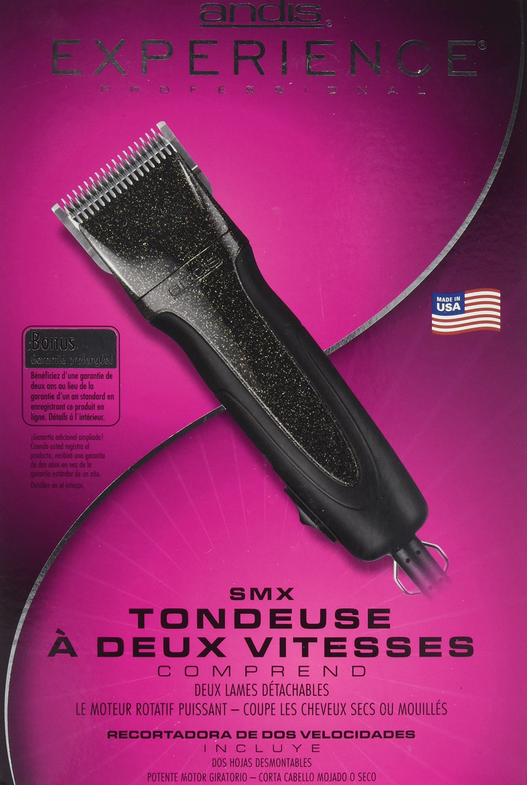 Andis SMX Experience 2 Speed 63230 Detachable Blade Clipper