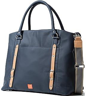 d93b9b1343d30 PacaPod Mirano Navy Designer Baby Diaper Bag - Luxury Blue Tote 3 in 1  Organising System