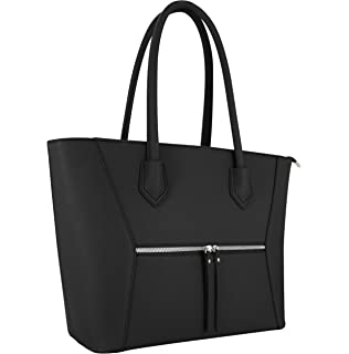 863ba88a0455a Vanessa   Melissa (Farbauswahl) Damen Handtasche PU-Leder TÜV geprüft groß  Schultertasche Shopping