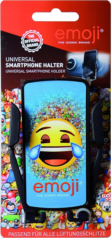 emoji EOINN090 Smartphone-Halter f/ür den L/üftungsschlitz Navigation Schwarz Universell Passend Handyhalter