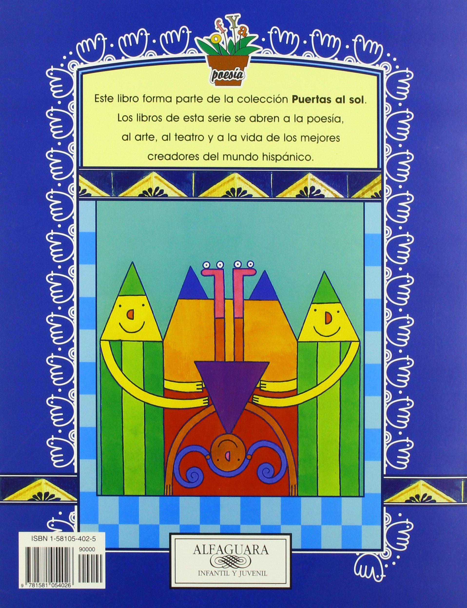 Letras / Letters (Puertas Al Sol Ser / Gateways to the Sun) (Spanish Edition): Alma Flor Ada: 9781581054026: Amazon.com: Books