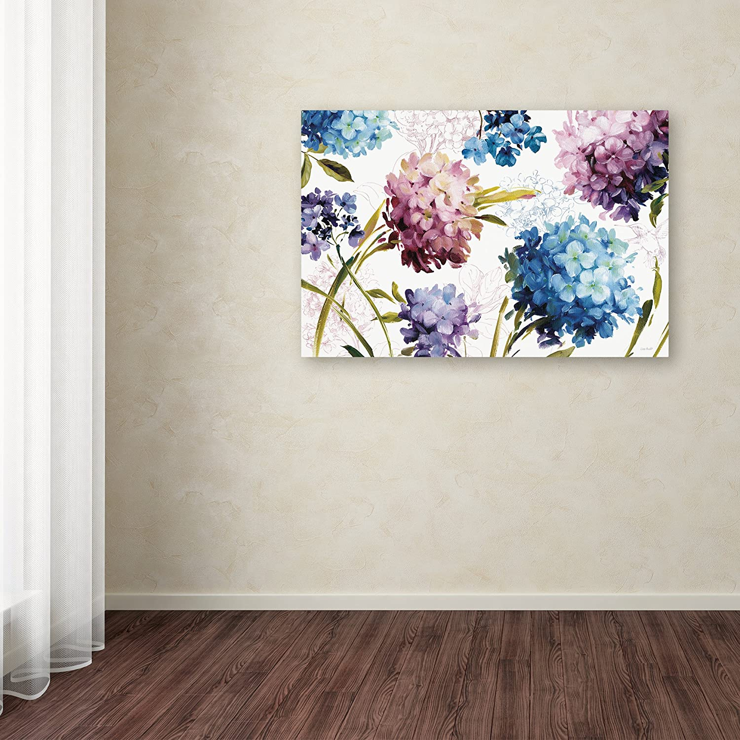 Amazon Com Spring Nectar I Laurie Wall Decor By Lisa Audit 16 X 24 Canvas Wall Art Posters Prints