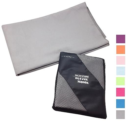 38 opinioni per Exerz Micro XL 150x85 cm Asciugamano Viaggio / Asciugamani palestra con una