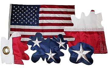 USA Amerika Flagge Fahne gestickte Sterne Wetterfeste Flagge US