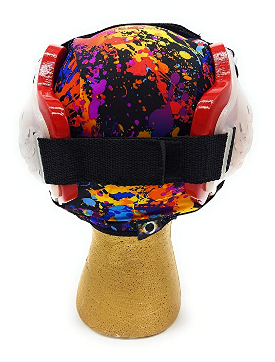 Wrestling Hair Cap - Under The Headgear Style - Paint Splatter