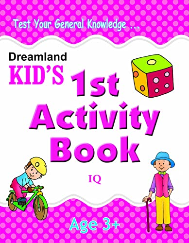 1st Activity Book - IQ (Kid's Activity Books)