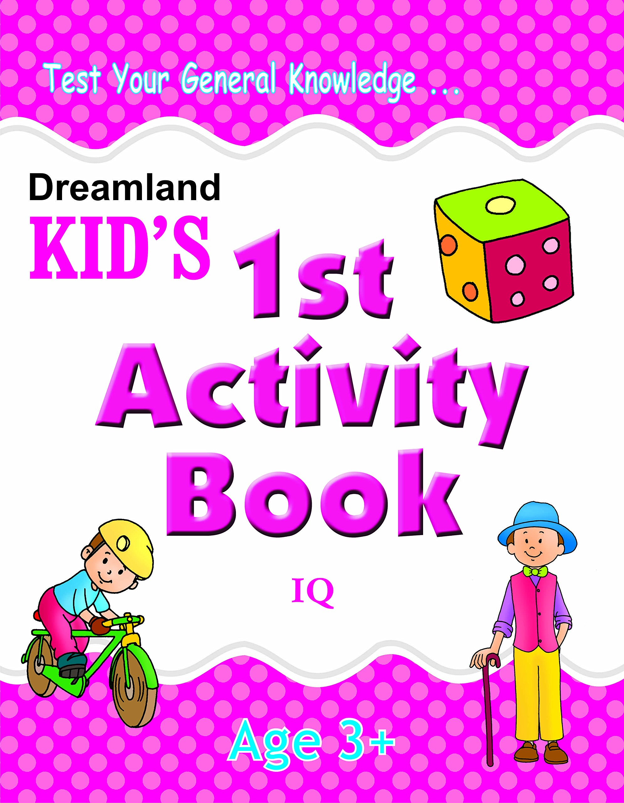 Buy 1st Activity Book - IQ (Ki...