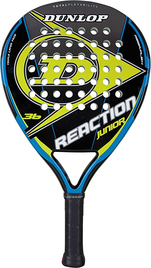 DUNLOP Reaction Jnr - Pala de pádel Junior: Amazon.es: Deportes y ...