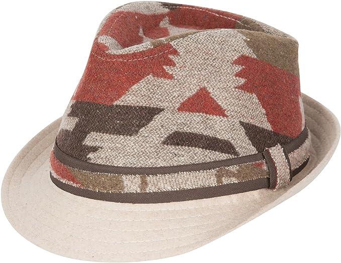 623f7b6e98172a Sakkas Santa Fe Wool Trilby Fedora at Amazon Men's Clothing store: