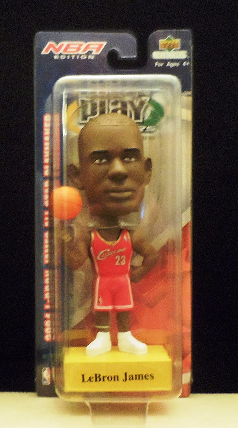 2004 Upper Deck Playmakers Lebron James Cleveland Cavaliers Bobblehead - Only 5, 000 Made
