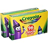 Crayola 52-0096 96 Count Crayon Box  (Pack of 2)