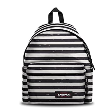 b3c3be6f847 Amazon.com | Eastpak Unisex Padded Pak'r Backpack (Stripe-It Black, One  Size) | Casual Daypacks