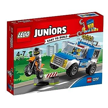 Lego Juniors 10735 Polizei Auf Verbrecherjagd Spielzeug Für 4