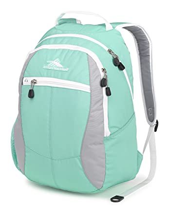 High Sierra Curve Backpack, Aquamarine Ash White