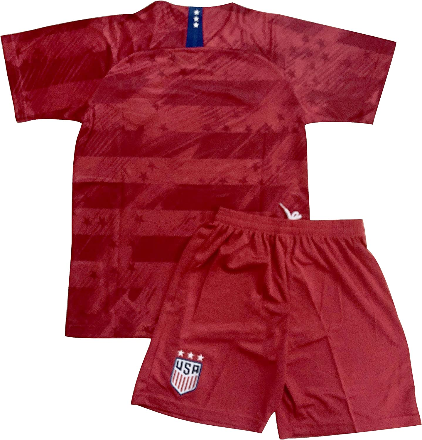Youths USA Away National Soccer Team Jersey /& Shorts