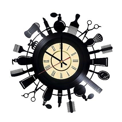 Good Hair Stylist Salon Vinyl Wall Clock   Great Idea For Hairdresser, Hair  Stylist, Barber