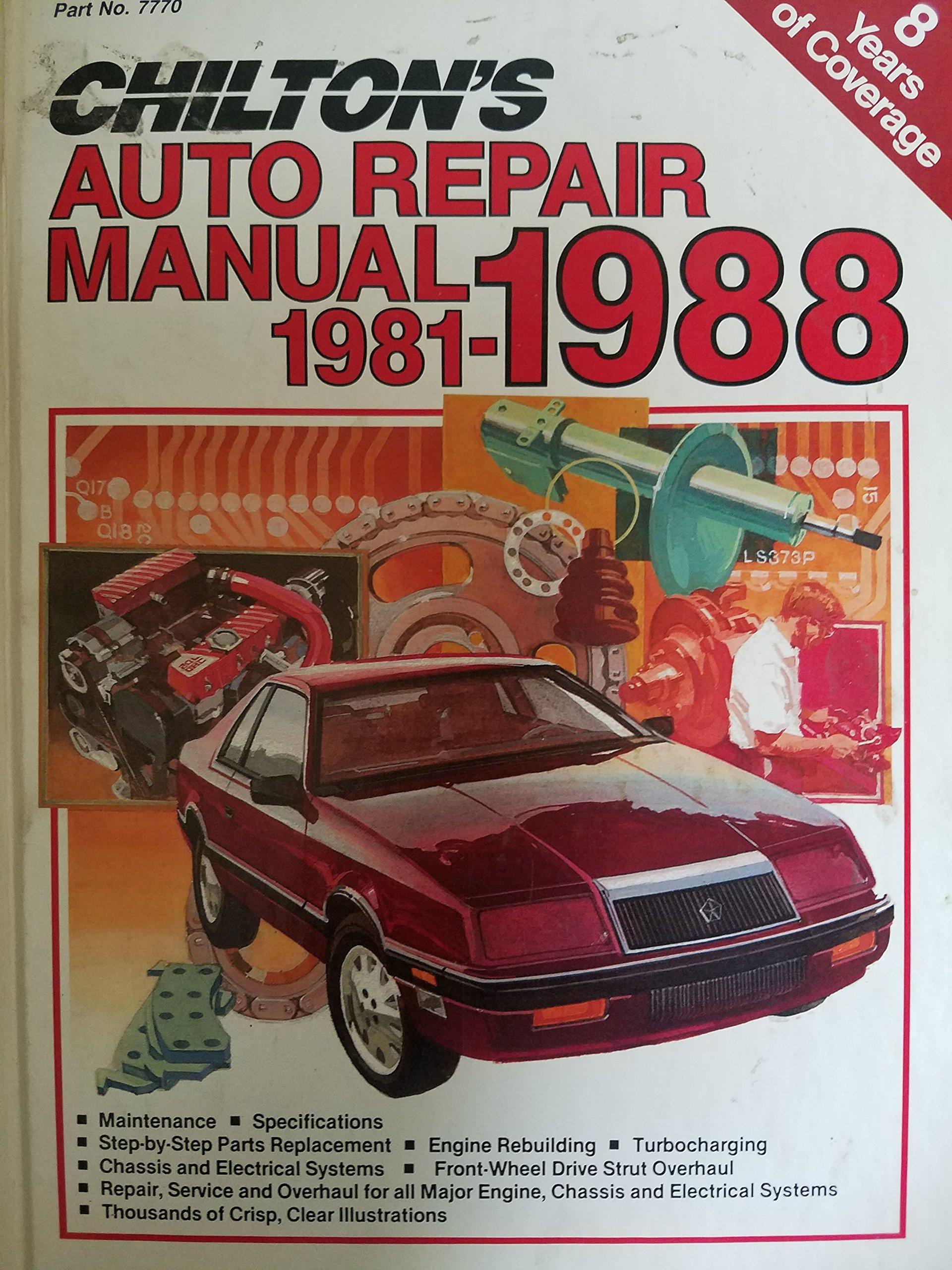 chiltons car manuals