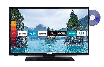 f894d14a2205 Telefunken XH28E501D 71 cm (28 Zoll) Fernseher (HD Ready, Triple-Tuner,  Smart TV, DVD-Player integriert)