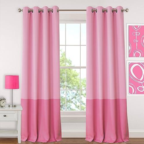 Elrene Home Fashions 26865901078 Juvenile Teen or Tween Blackout Room Darkening Grommet Window Curtain Drape Panel