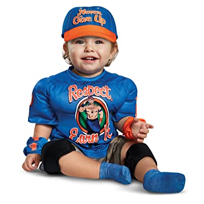 Disguise John Cena Toddler Muscle Costume: Toys & Games