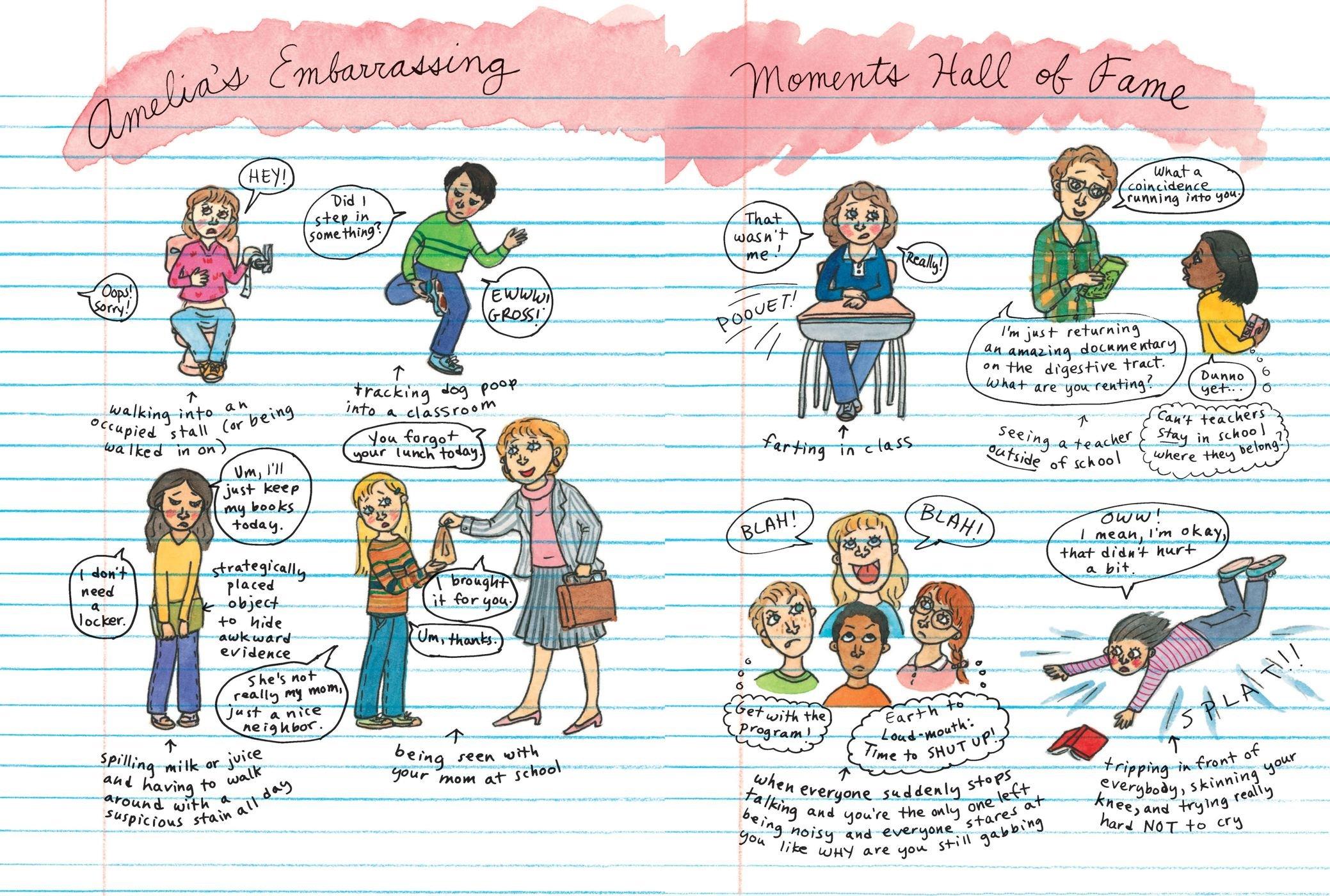 Amelia's Most Unforgettable Embarrassing Moments: Marissa Moss:  9780689870415: Books - Amazon.ca
