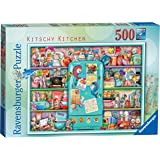 Ravensburger 16575 Kitschy Kitchen 500pc Jigsaw Puzzle for Adults & for Kids Age 10 and Up